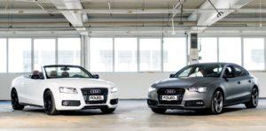 Foleo Audi grau matt und weiß